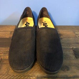 Anne Klein sport slip on navy shoe